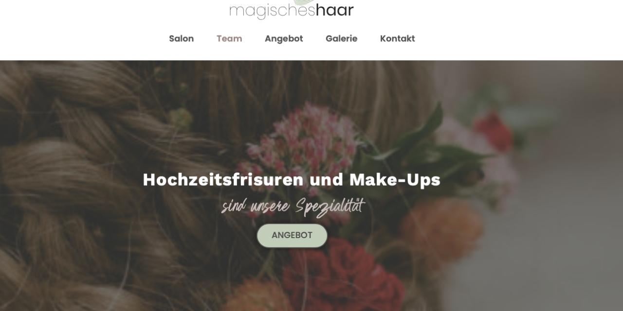 Ein neuer Look für unsere Website